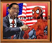 Sort my tiles Obama and Spiderman spiele online