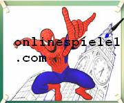 Spiderman flying coloring Spiderman online spiele