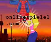 Spiderman kiss Spiderman online spiele